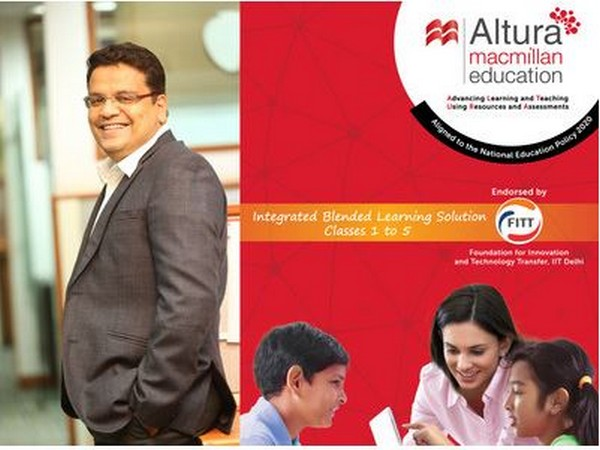 Rajesh Pasari, Managing Director, Macmillan Education India at the launch of Altura