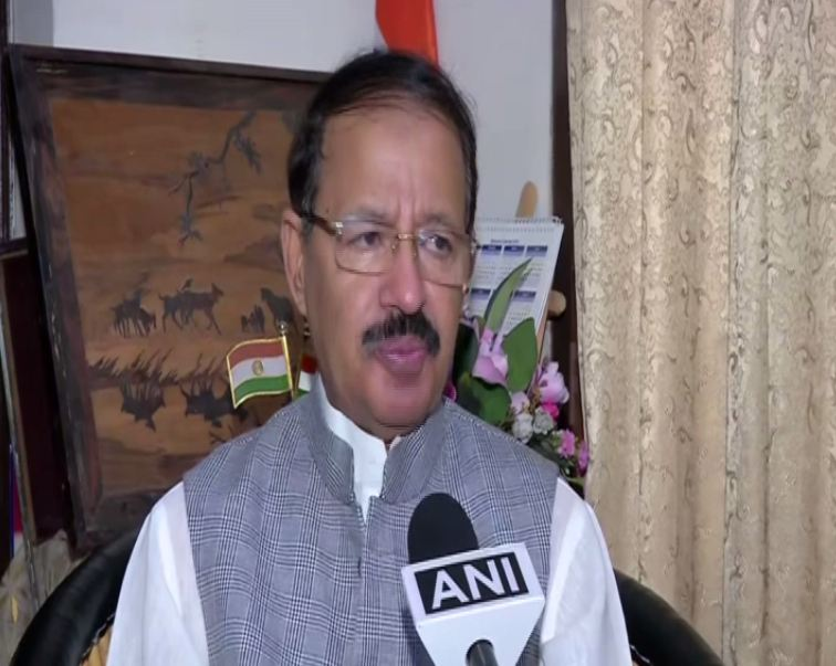 Congress leader Raashid Alvi speaking to ANI in New Delhi on Wednesday. Photo/ANI