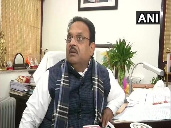 Rajasthan Health Minister Raghu Sharma speaking to ANI in Kota, Rajasthan on Wednesday. (Photo/ANI)