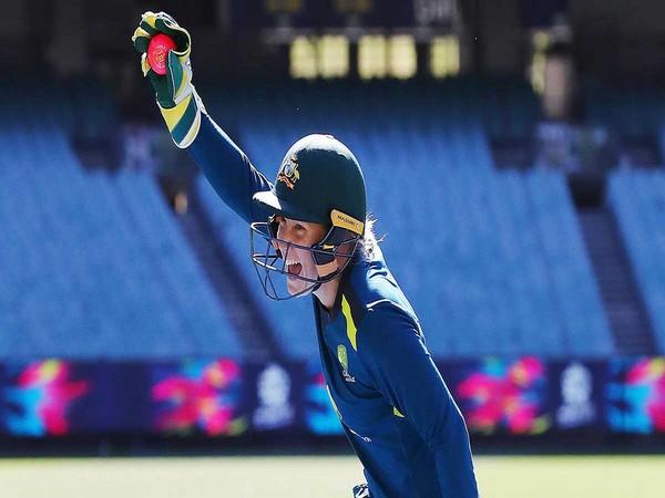 Australian wicket-keeper batsman Alyssa Healy (Image Source Cricket.com.au)