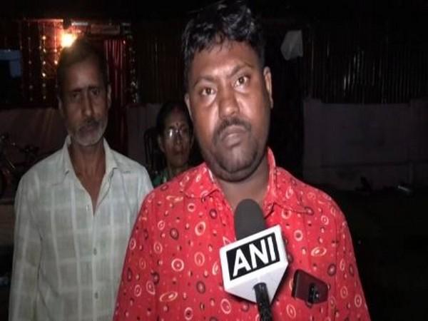 BJP leader Amar Bhagat speaking to ANI on Wednesday in Siliguri. Photo/ANI