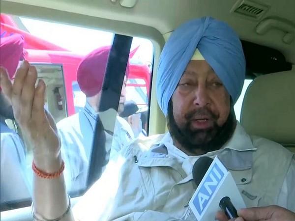 Punjab Chief Minister Captain Amarinder Singh. File photo/ANI