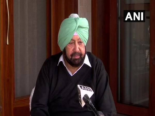 Punjab Chief Minister Amarinder Singh (File Photo/ANI)