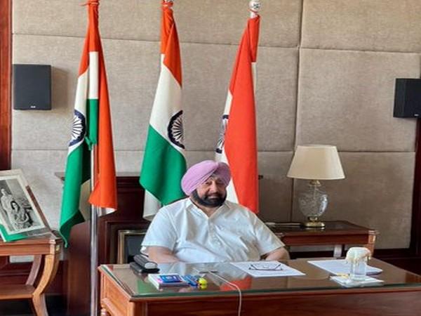 Punjab Chief Minister Captain Amarinder Singh (File Photo/ANI)