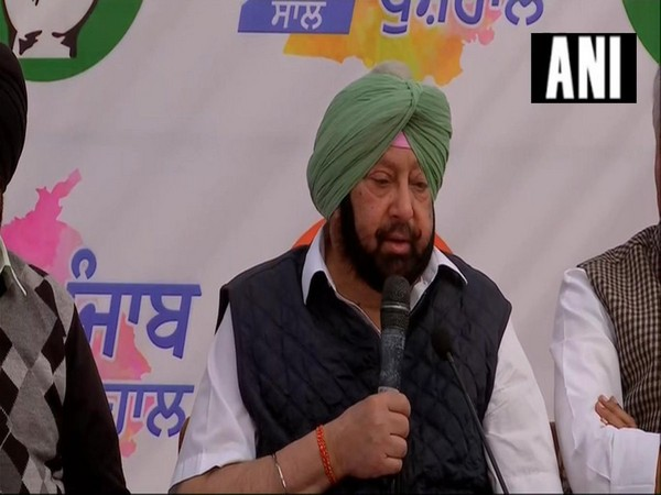 Captain Amarinder Singh addressing a press conference in Chandigarh on Saturday.