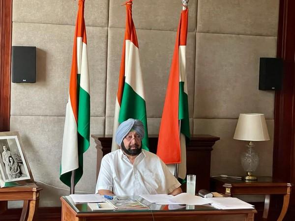 Punjab Chief Minister Captain Amarinder Singh. [File Photo/ANI]
