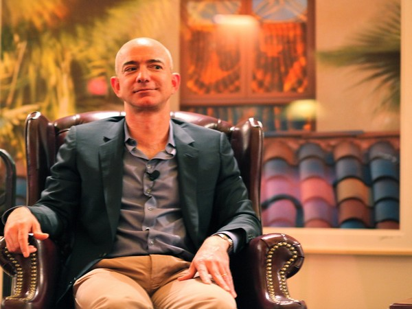 Amazon Founder and CEO Jeff Bezos (file photo)
