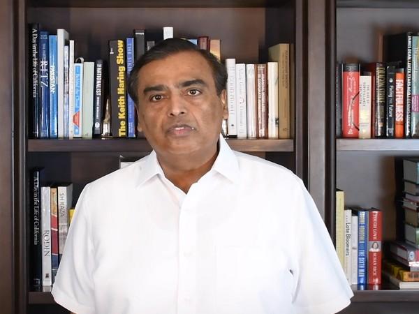 Reliance Industries Ltd (RIL) Chairman Mukesh Ambani