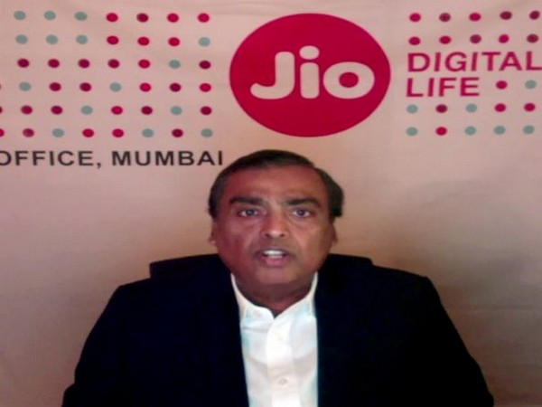 Reliance Chairman and Managing Director Mukesh Ambani