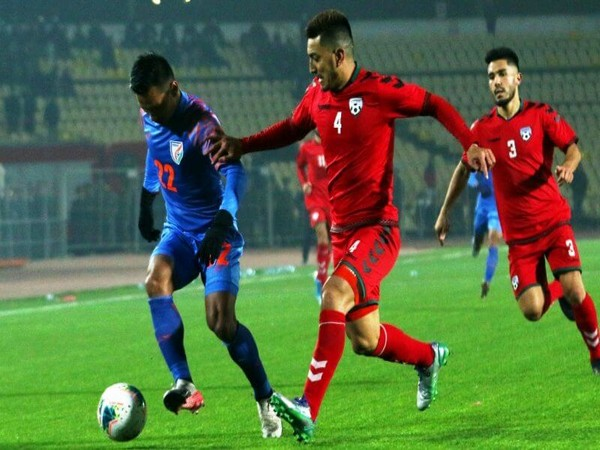 Afghanistan midfielder Zohib Islam Amiri (Photo/Indian Football Team Twitter)
