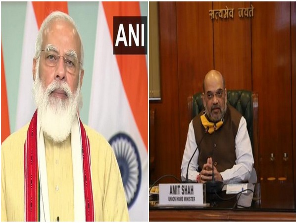 PM Narendra Modi (left), Union Home Minister Amit Shah (right) [File images]