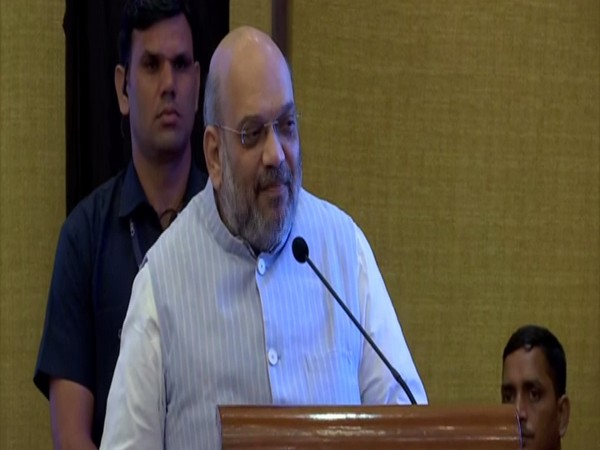 Union Minister Amit Shah launches ERSS, e-BEAT system in Chandigarh on Friday. (Photo/ANI)