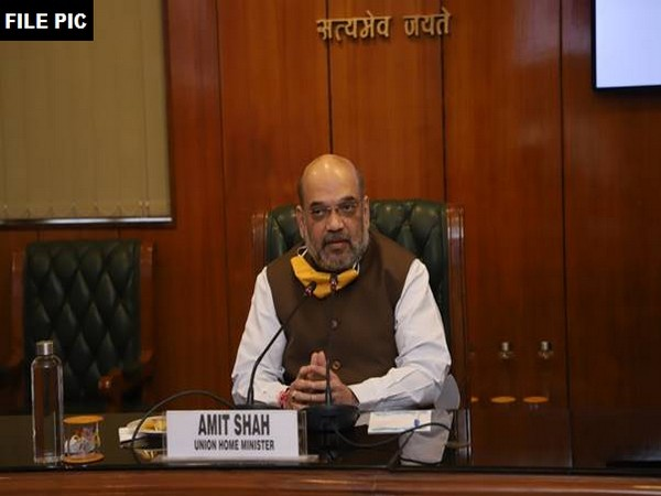 Union Home Minister Amit Shah (File Photo/ANI)