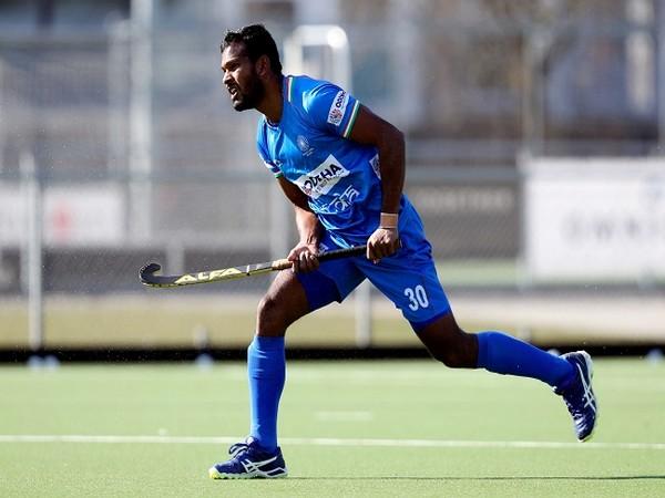 Amit Rohidas in action (Image: Hockey India)