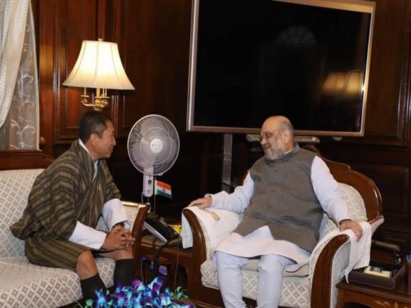 Bhutanese Foreign Minister T Dorji met Home Minister Amit Shah.