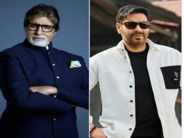 Megastar Amitabh Bachchan and actor Ajay Devgn (Image Source: Twitter)