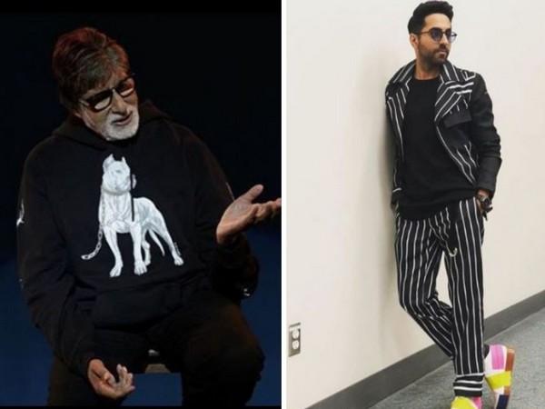 Amitabh Bachchan and Ayushmann Khurrana