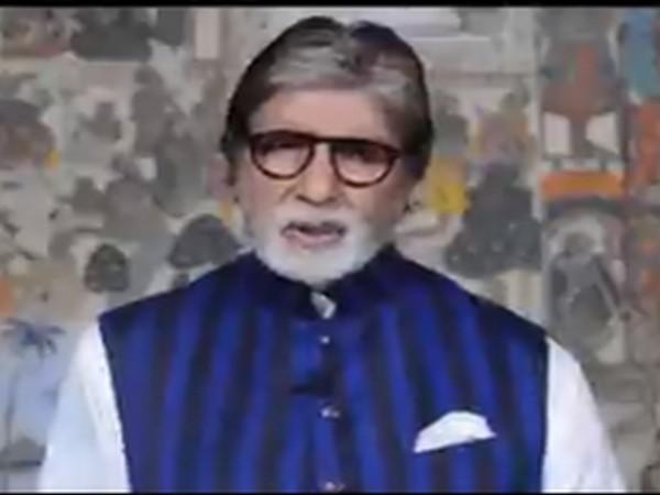 Actor Amitabh Bachchan (Image source: Twitter)