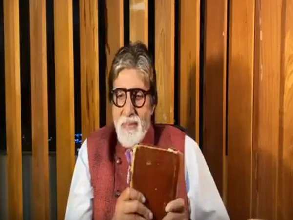 A still from the video shared by actor Amitabh Bachchan (Image source: Twitter)