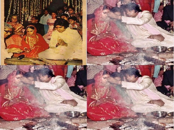 Actor Amitabh Bachchan marks 47th wedding anniversary with wife Jaya Bachchan with throwback pictures (Image source: Instagram)