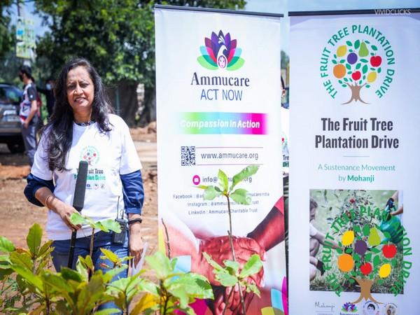 Mega fruit tree plantation drive commenced, preserving natural habitat for animals