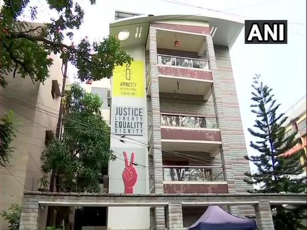 Amnesty International India office in Bengaluru.
