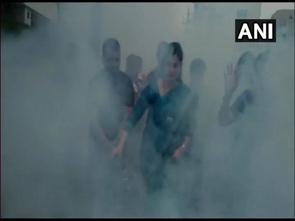 Maharashtra: MP, MLA conduct mosquito fogging drive in