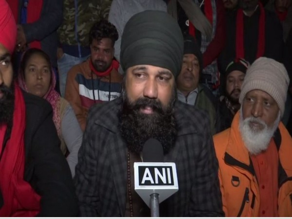 Megnath, Valmiki leader in Amritsar speaking to ANI on Monday. (Photo/ANI)