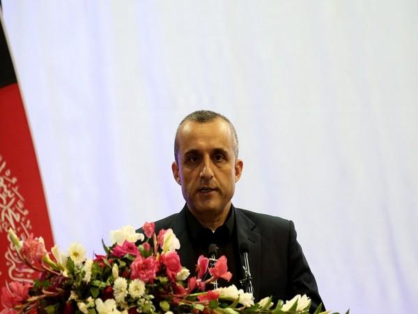 First Vice President of Afghanistan, Amrullah Saleh (Photo Credit - Reuters)