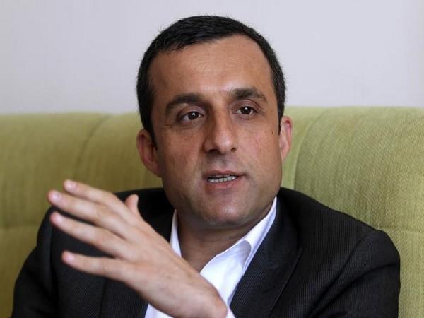 First Afghan Vice President Amrullah Saleh