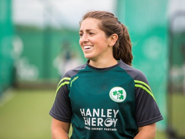 Ireland women's cricketer Amy Kenealy (Photo/ Ireland Women's Cricket Team Twitter)
