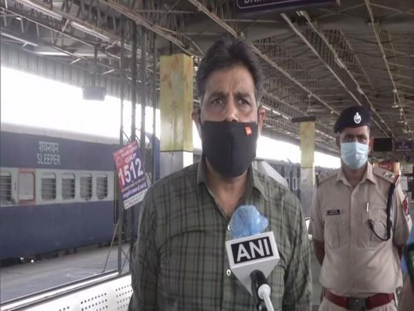 Northern Railway CPRO Deepak Kumar speaking to ANI in New Delhi on Tuesday. (Photo/ANI)