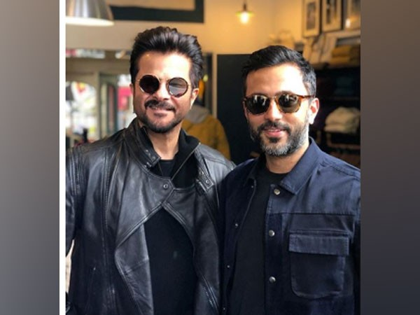 Actor Anil Kapoor with son-in-law Anand Ahuja (Image Source: Instagram)