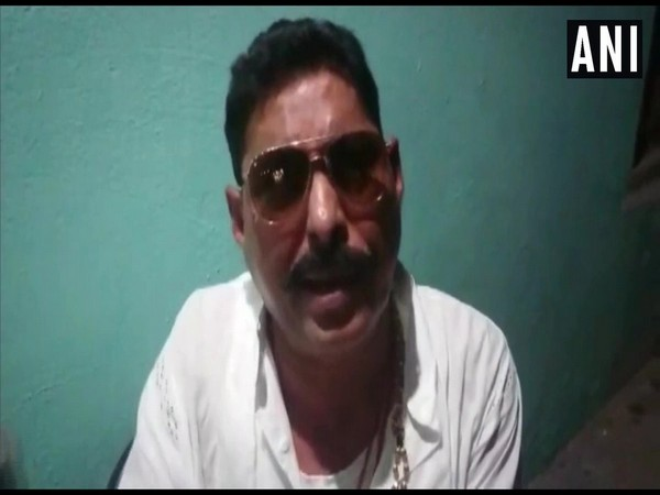 Independent MLA Anant Kumar Singh, the accused in an alleged conspiracy to kill a contractor, speaking about his surrender in a video message. (Photo/ANI)