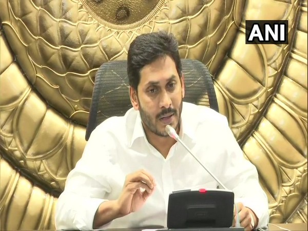 Andhra Pradesh Chief Minister YS Jagan Mohan Reddy (File Photo/ANI)