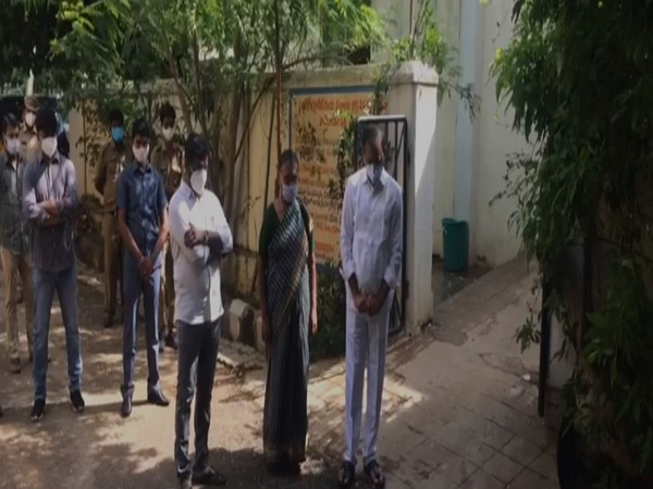 YSRCP Tirupati MLA Bhumana Karunakar Reddy expressed condolence  to 4 people who died after consuming sanitizer in Chittoor district on Saturday. (Photo/ANI)