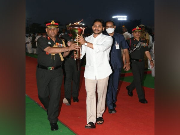 The Victory Flame, which was lit by Prime Minister Narendra Modi to ignite the year-long Golden Jubilee celebrations on December 16, has come to Tirupati to begin its Southern journey.