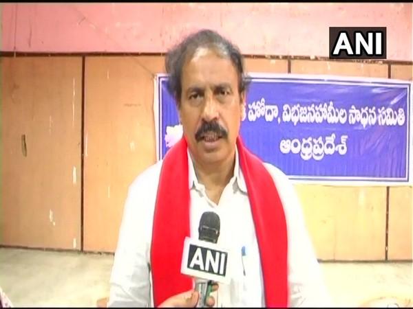 Andhra Pradesh CPI secretary K Ramakrishna (file photo)