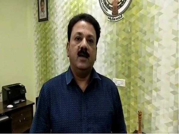 Andhra Pradesh Animal Husbandry department director, Dr Amarendra Kumar (Photo/ANI)