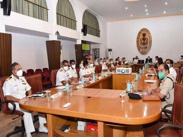 APEX Committee reviews Coastal Security Initiatives of Andhra Pradesh (Photo/ANI)
