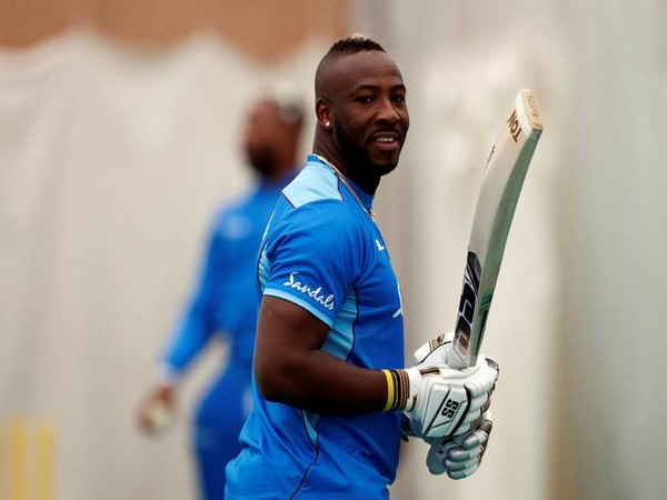 West Indies all-rounder Andre Russell (File photo)