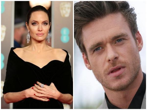 Angelina Jolie and Richard Madden