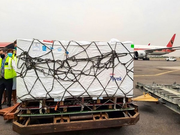 India delivers Made-in-India COVID-19 vaccines to Angola  (Photo Credit: Twitter/ S Jaishankar)