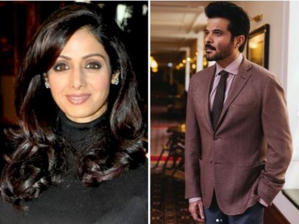 Late actor Sridevi and Bollywood actor Anil Kapoor (Image courtesy: Instagram)