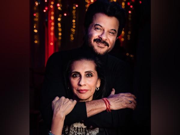 Actor Anil Kapoor with wife Sunita Kapoor (Image Source: Instagram)
