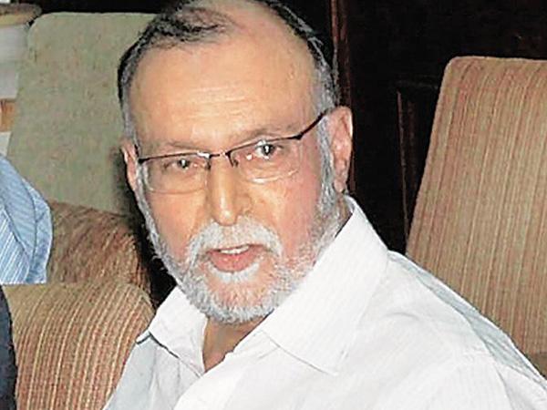 Delhi L-G Anil Baijal