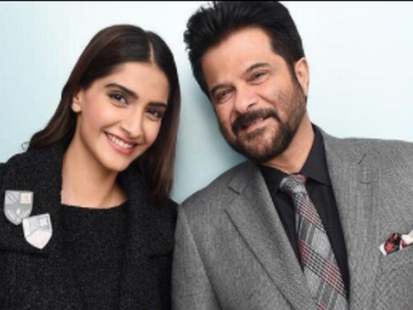 Anil Kapoor and his daughter Sonam Kapoor (Image Source: Instagram)