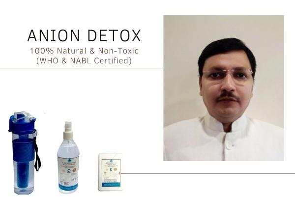 Supriyo Kumar, Founder, Anion Detox
