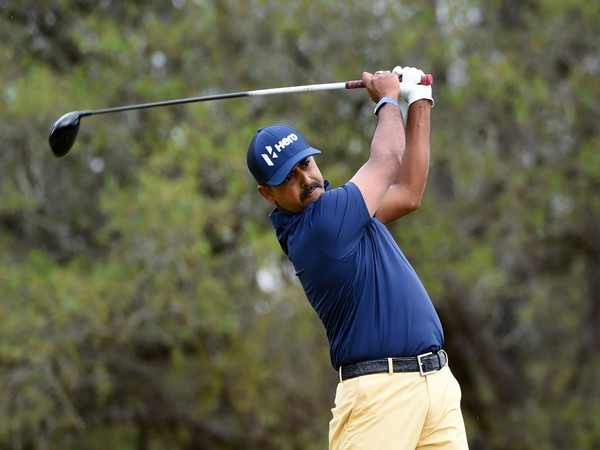 Anirban Lahiri at the Texas Open