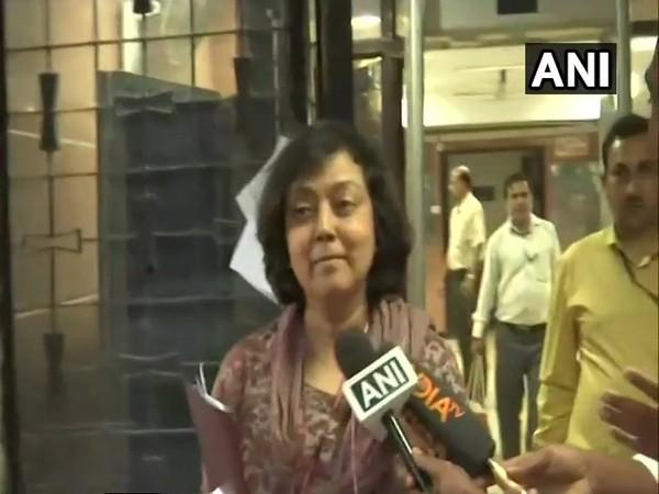 Secretary, Department of School Education and Literacy, Ministry of Education Anita Karwal (File Photo/ANI)
